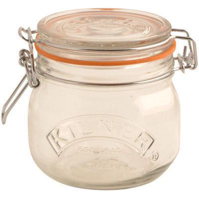 Kilner Home Preserving Jars Round Kilner Cliptop Jar 0.5L
