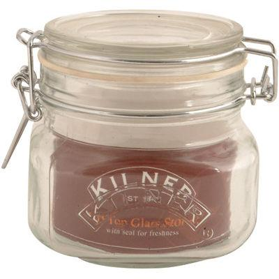 Kilner Home Preserving Jars Square Kilner Cliptop Jar 0.5L