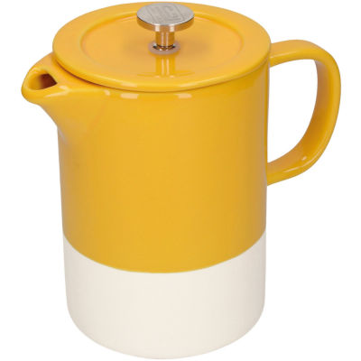 La Cafetiere Barcelona Collection Barcelona Cafetiere Six Cup Mustard Yellow