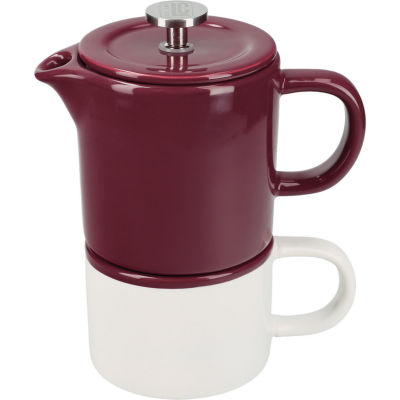 La Cafetiere Barcelona Collection Barcelona Coffee For One Plum