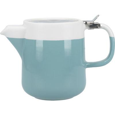 La Cafetiere Barcelona Collection Barcelona Teapot Small Retro Blue