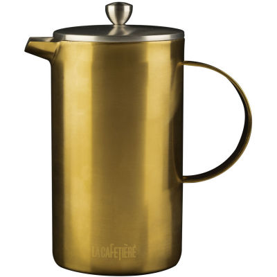 La Cafetiere Edited Collection Edited Cafetiere 8 Cup Brushed Gold