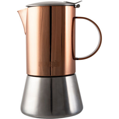 La Cafetiere Edited Collection Edited Stovetop 4 Cup Copper