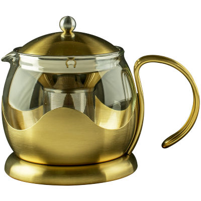 La Cafetiere Edited Collection Edited Le Teapot 4 Cup Brushed Gold