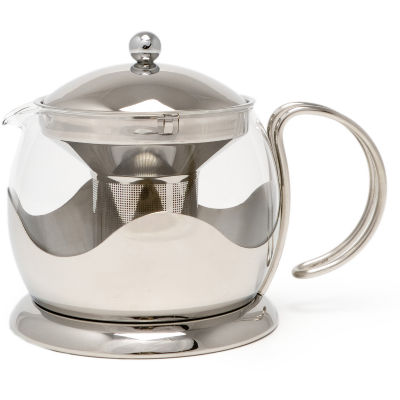 La Cafetiere Core Collection Origins Steel Le Teapot Large
