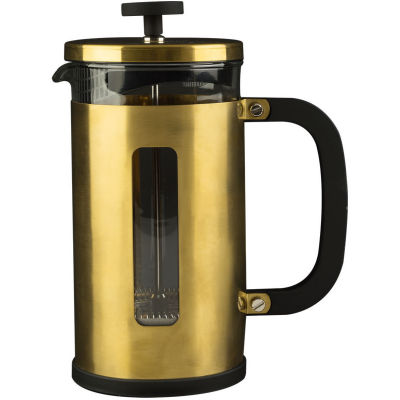 La Cafetiere Edited Collection Edited Pisa Cafetiere 8 Cup Brushed Gold