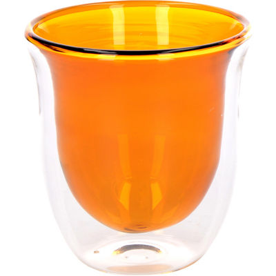 La Cafetiere Colour Collection Colour Coffee Glass Set of 2 Amber