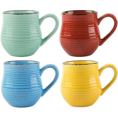 La Cafetiere Core Collection La Cafetiere Espresso Mug Bright Set of 4