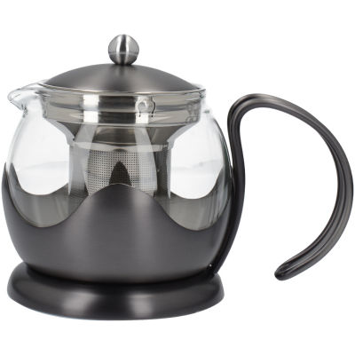 La Cafetiere Edited Collection Edited Le Teapot 2 Cup Brushed Gun Metal
