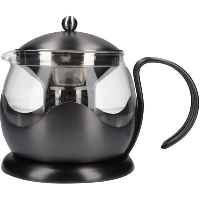 La Cafetiere Edited Collection Edited Le Teapot 4 Cup Brushed Gun Metal