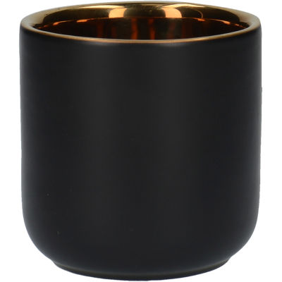 La Cafetiere Edited Collection Edited Matt Black Espresso Cup Double Walled Set of 2