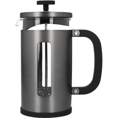 La Cafetiere Edited Collection Edited Pisa Cafetiere 8 Cup Brushed Gun Metal