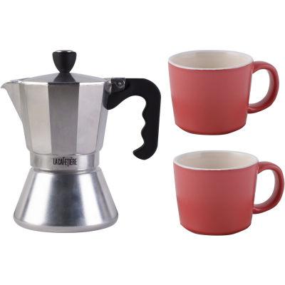 La Cafetiere Espresso Pot Collection Espresso Pot Gift Set