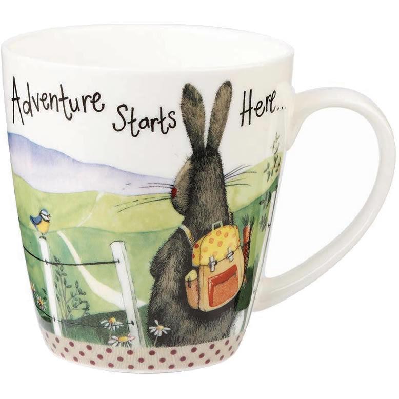 80a3a99f699 Alex Clark Mugs Mug Cherry Adventure Starts Here   Louis Potts