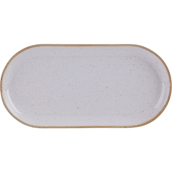 DPS Tableware Seasons Narrow Oval Plate 30cm Stone Grey  sc 1 st  Buy Tableware Portmeirion Spode Churchill China and more online ... & DPS Tableware Seasons Narrow Oval Plate 30cm Stone Grey | Louis Potts