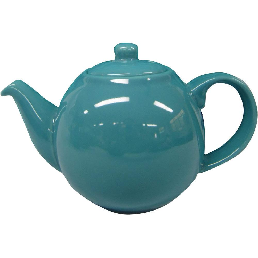 London Pottery Globe Teapots 2 Cup Teapot Bora Blue