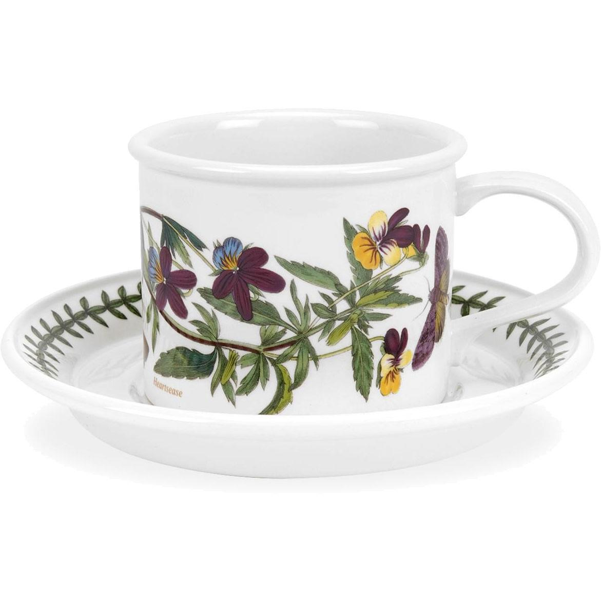 Portmeirion Botanic Garden Forget Me Not Cup and Saucer