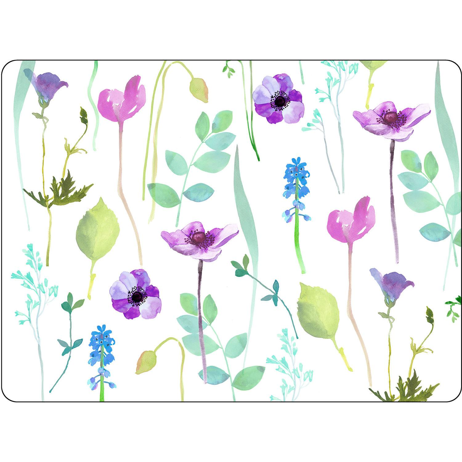 Buy Portmeirion Water Garden Placemats White Set of 6 at Louis Potts