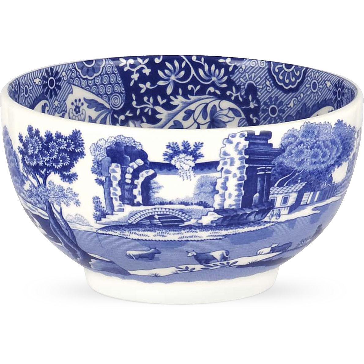 Spode Blue Italian Dip Bowl 11cm Louis Potts