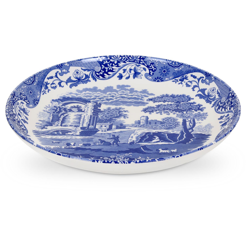 Spode Blue Italian Pasta Serving Bowl 30cm Louis Potts