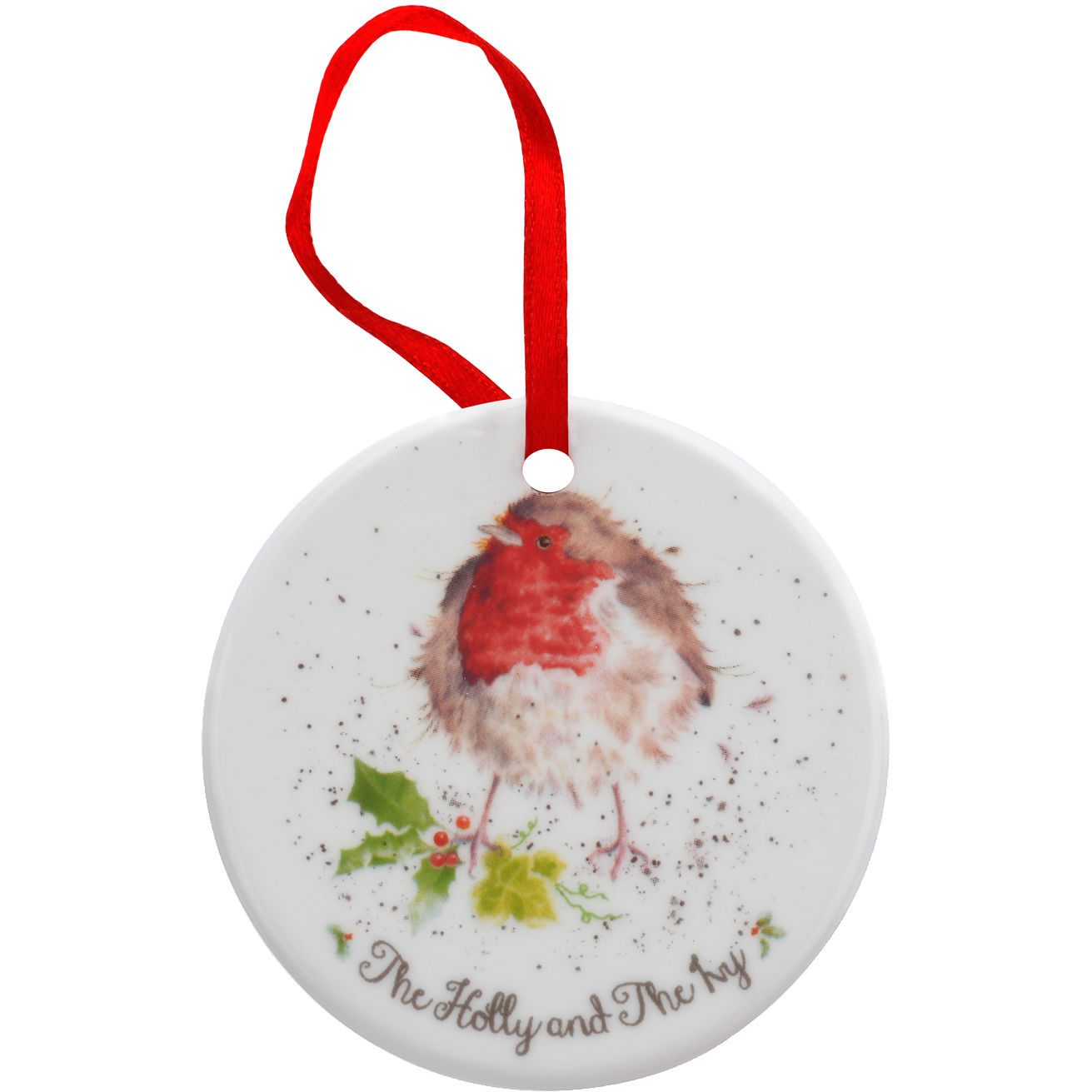 Wrendale Christmas Decoration Set of 6 | Louis Potts