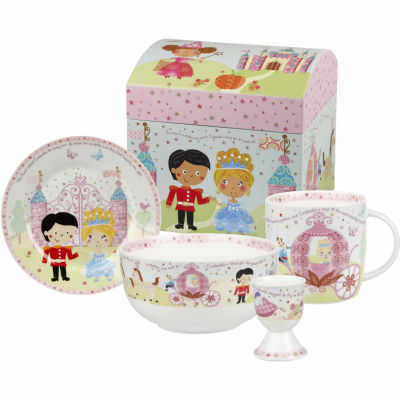 Little Rhymes 4-Piece Breakfast Set Cinderella