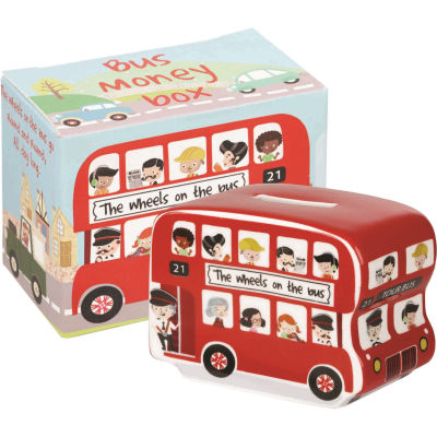 Little Rhymes Money Box Bus Wheels On The Bus