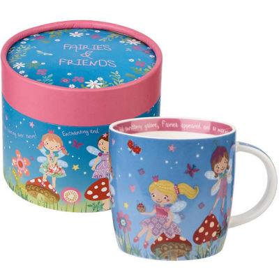 Little Rhymes Mug In Hatbox Fairies & Friends