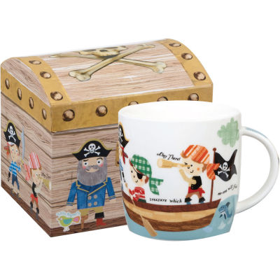 Little Rhymes Mug In Hatbox Pirates