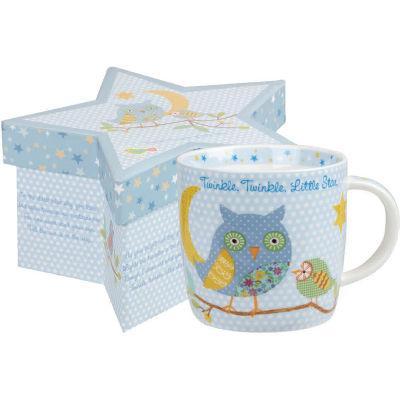 Little Rhymes Mug In Starbox Twinkle Twinkle Blue