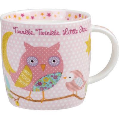 Little Rhymes Mug In Starbox Twinkle Twinkle Pink