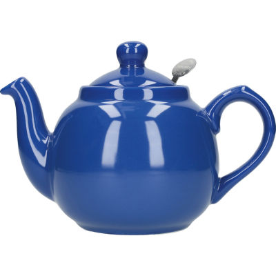 London Pottery Farmhouse Filter 2-Cup Farmhouse Teapot French Blue