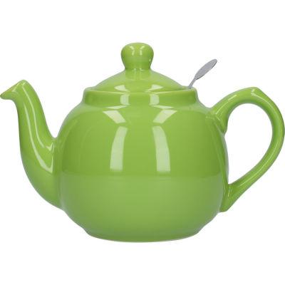 London Pottery Farmhouse Filter 2-Cup Farmhouse Teapot Green