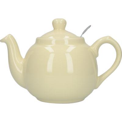 London Pottery Farmhouse Filter 2-Cup Farmhouse Teapot Ivory