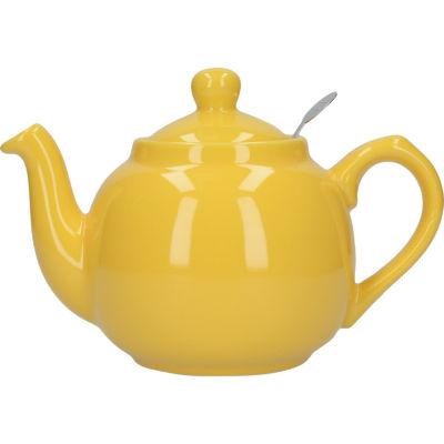 London Pottery Farmhouse Filter 2-Cup Farmhouse Teapot Yellow
