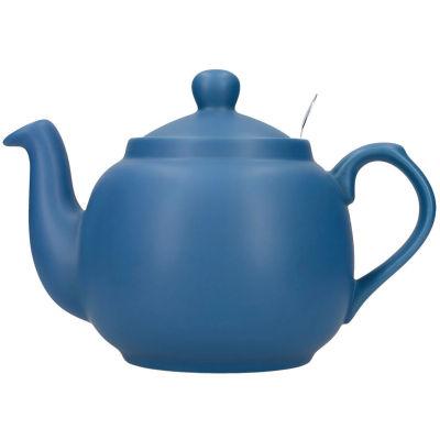 London Pottery Farmhouse Filter 4-Cup Farmhouse Teapot Nordic Blue