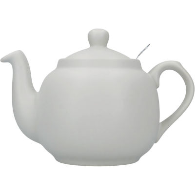 London Pottery Farmhouse Filter 4-Cup Farmhouse Teapot Nordic Grey