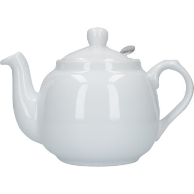London Pottery Farmhouse Filter 4-Cup FarmhouseTeapot White