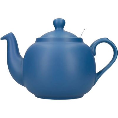 London Pottery Farmhouse Filter 6-Cup Farmhouse Teapot Nordic Blue