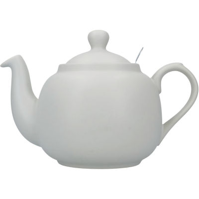 London Pottery Farmhouse Filter 6-Cup Farmhouse Teapot Nordic Grey