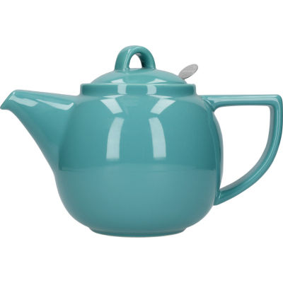 London Pottery Geo Filter 2-Cup Geo Filter Teapot Caribbean Blue