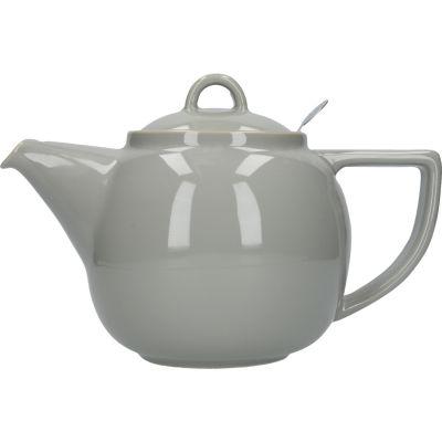 London Pottery Geo Filter 2-Cup Geo Filter Teapot Cobblestone Grey