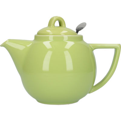 London Pottery Geo Filter 2-Cup Geo Filter Teapot Pistachio Green