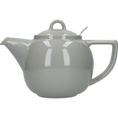 London Pottery Geo Filter 4-Cup Geo Filter Teapot Cobblestone Grey