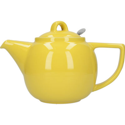 London Pottery Geo Filter 4-Cup Geo Filter Teapot Lemon Yellow