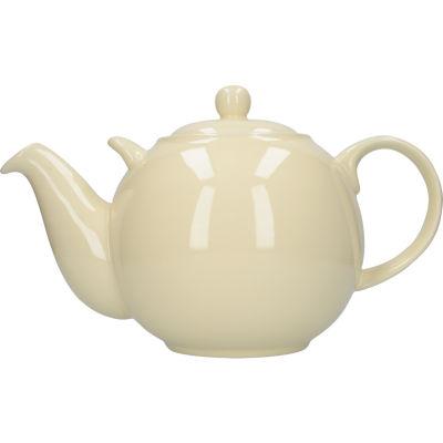 London Pottery Globe 10-Cup Teapot Ivory