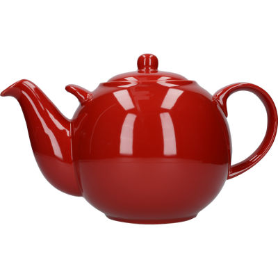 London Pottery Globe 10-Cup Teapot Red