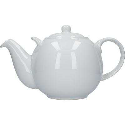 London Pottery Globe 10-Cup Teapot White