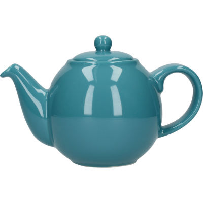 London Pottery Globe 2-Cup Teapot Aqua Blue