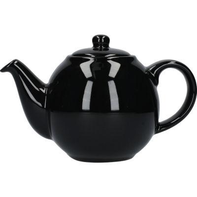 London Pottery Globe 2-Cup Teapot Gloss Black